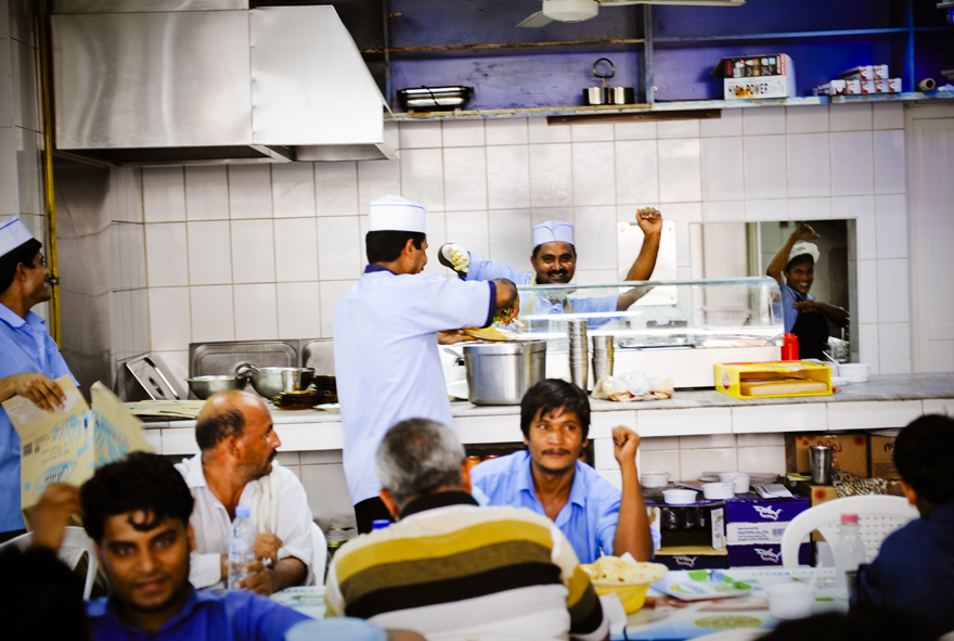 Dancing chefs