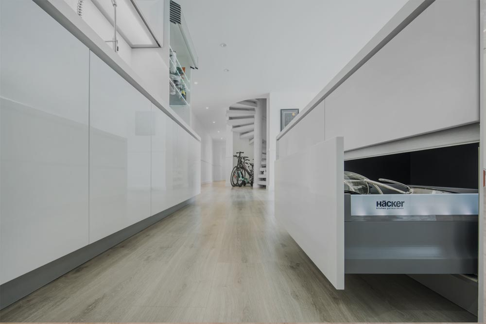 Luxury kitchens from Hacker Germany, for Innerspace Dubai