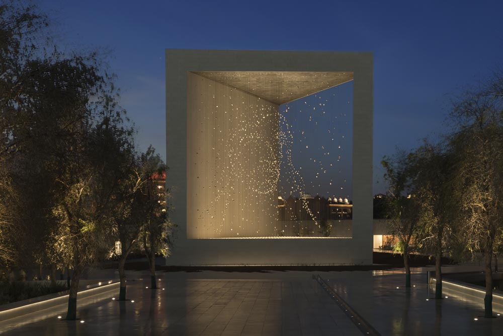 The Constellation: The Founder's Memorial, Abu Dhabi, for DPA Lighting