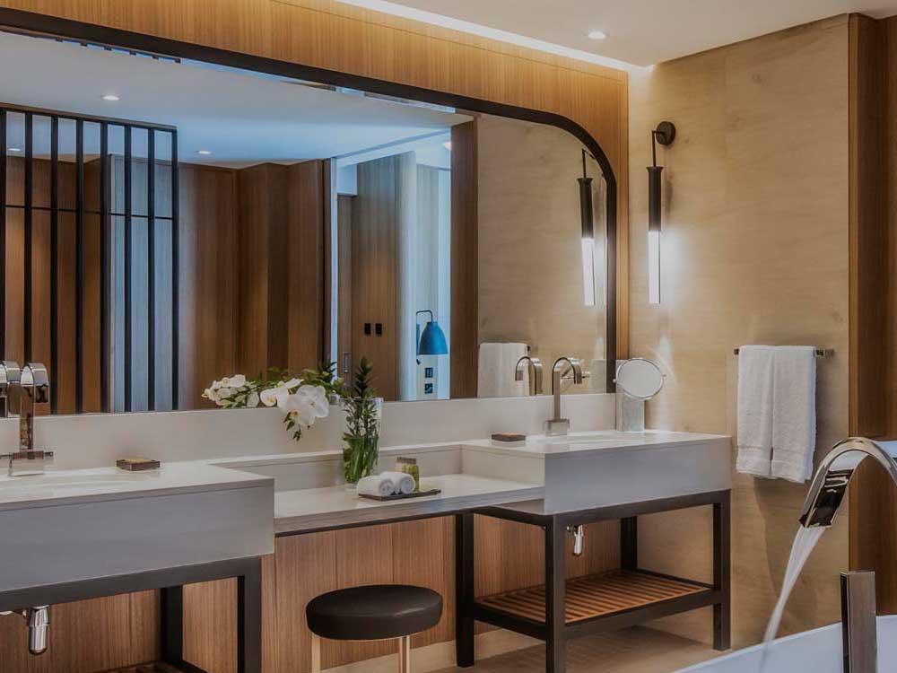 Hilton DoubleTree Hotel for leading construction group Khansaheb